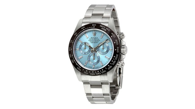 Oyster Perpetual Cosmograph Daytona Ice Blue Dial Automatic Men's Chronograph Watch
