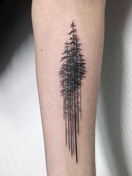 Aspen Tree Tattoo