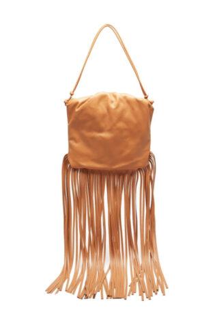 Bottega Veneta The Fringe Leather Shoulder Bag