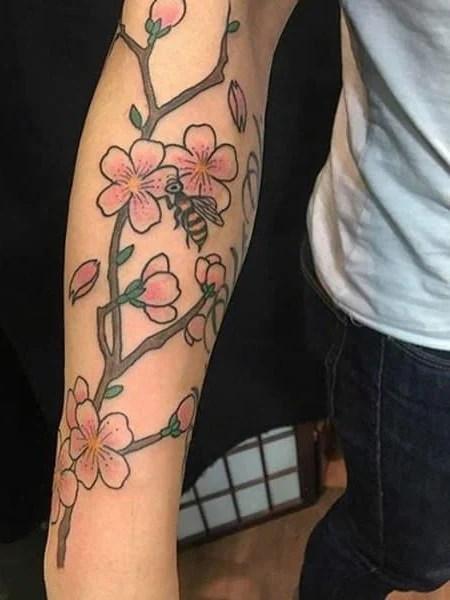 Cherry Blossom Tree Tattoo1