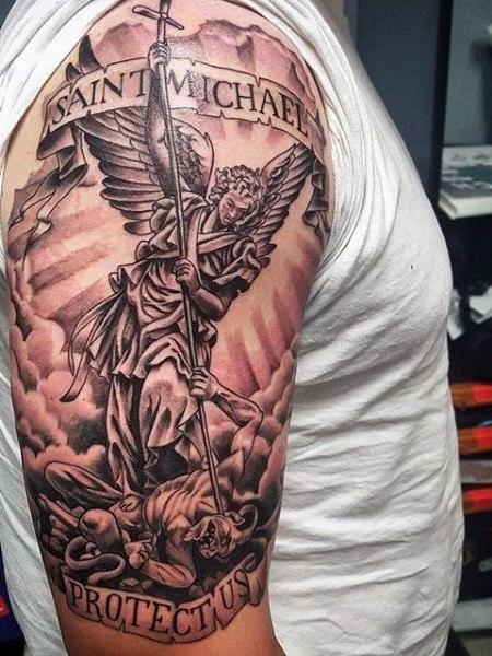 Angel Michael Tattoo