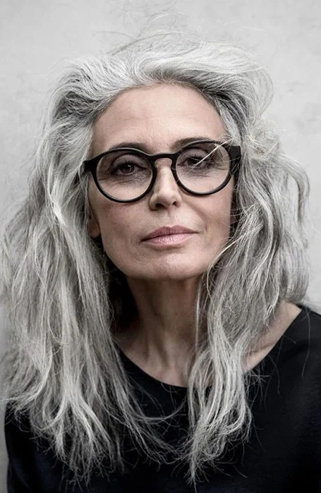 Long Layered Hair For Ladies Over 50