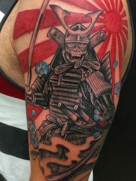 Japanese Sun Tattoo