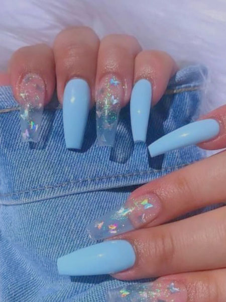 23 Beautiful Butterfly Nail Designs To Copy 2021 The Trend Spotter