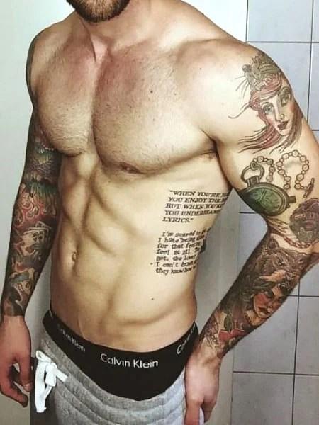 Side Rib Tattoo
