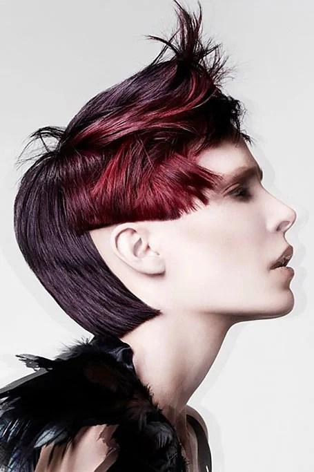 Burgundy Maroon Hair