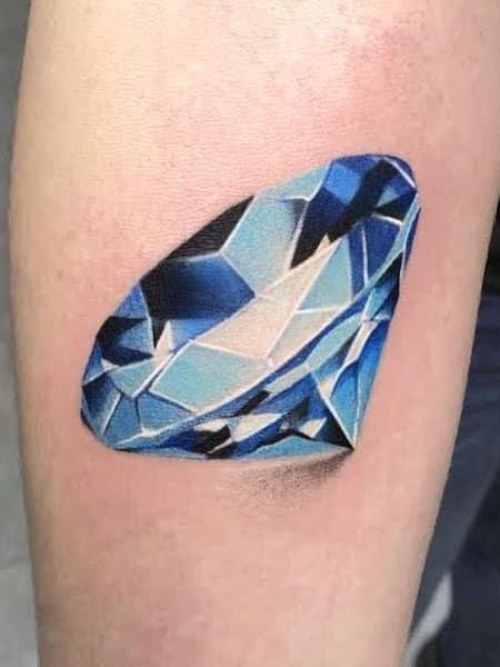 3d Diamond Tattoo