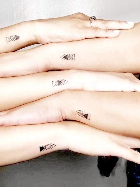 Sibling Tattoos For Five