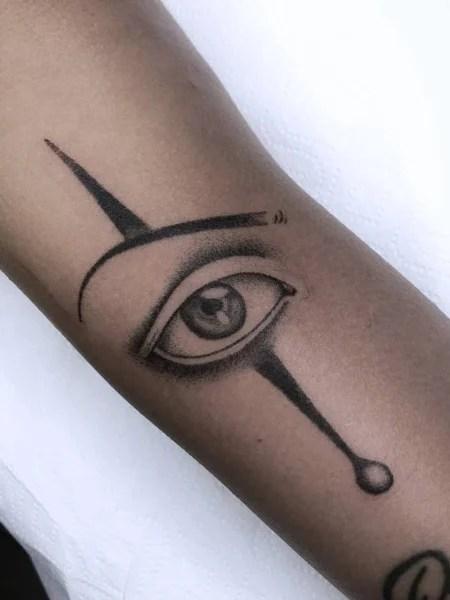 Cool Stick And Poke Tattoo