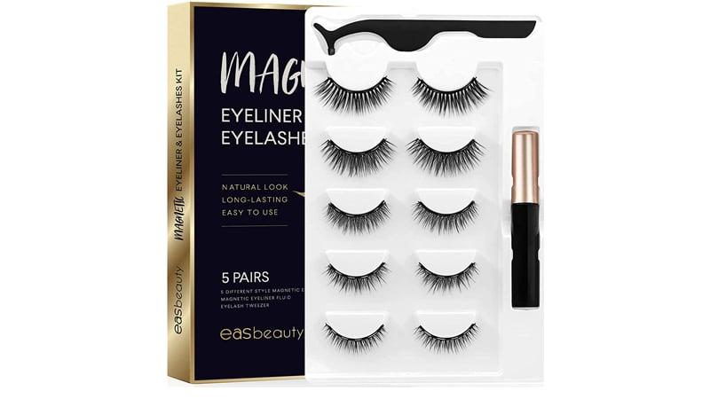 Easbeauty Upgraded Magnetic Eyeliner And Eyelashes Kit