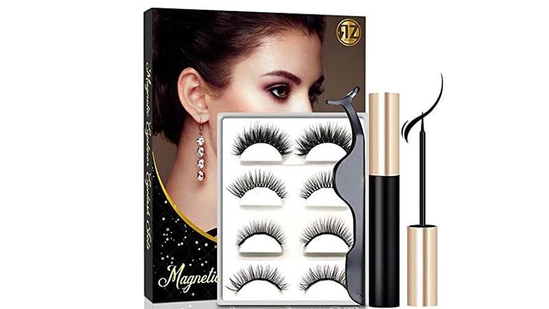 Reazeal Magnetic Eyelashes With Eyeliner