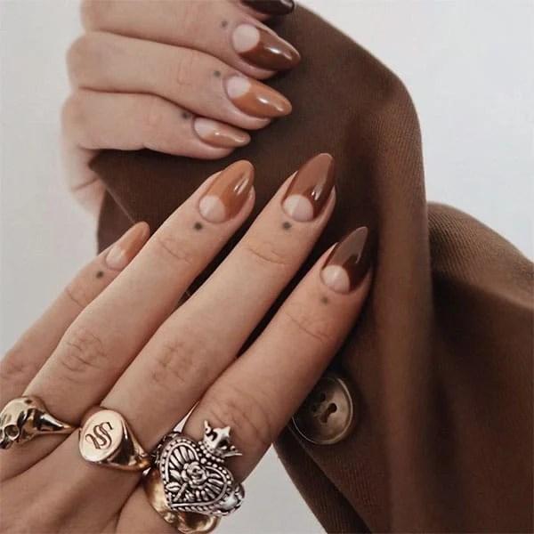 Shades Of Brown Pretty Nails Sophfloyd