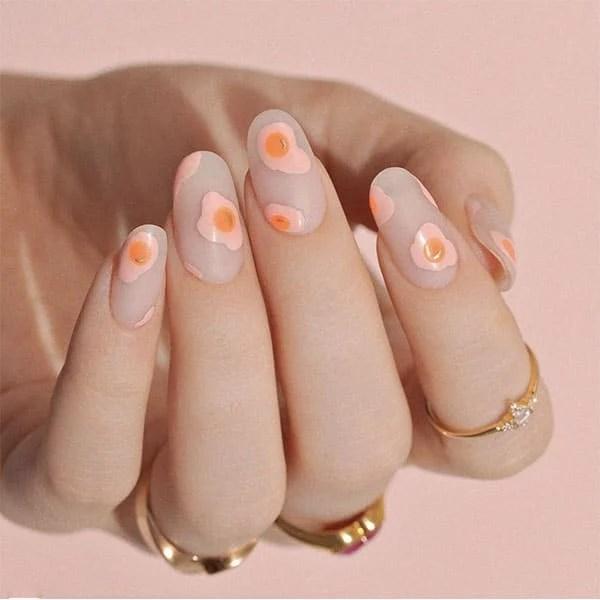 Sunny Side Up Design Nail Ideas Cassmariebeauty