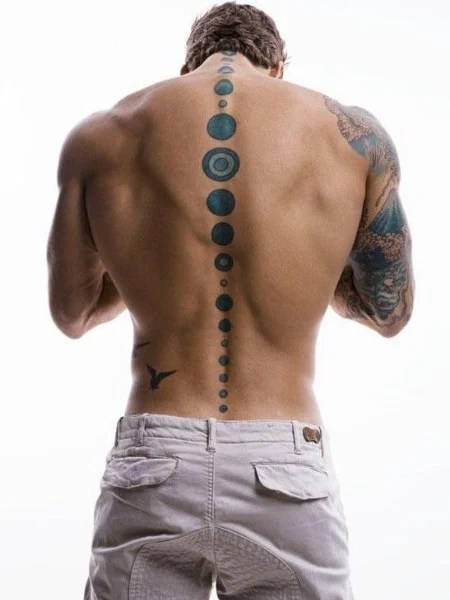 Sexy Spine Tattoo