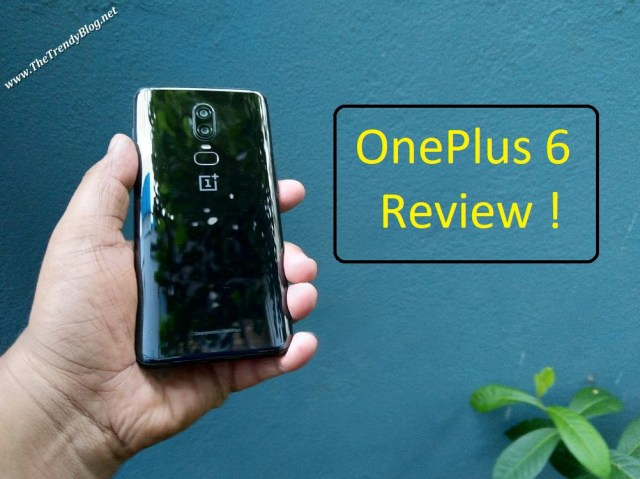 OnePlus 6 ( Mirror Black )