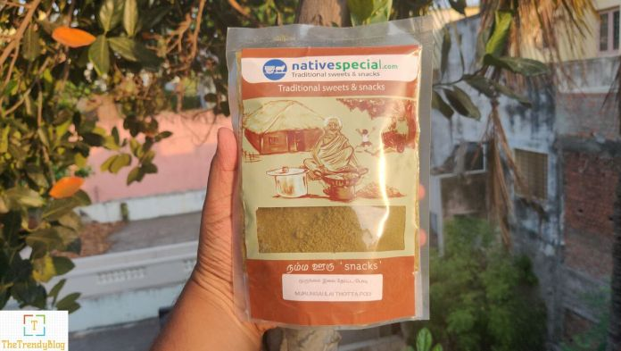 NativeSpecial Murungai Ilai Thotta Podi (Moringa Leaves Powder)