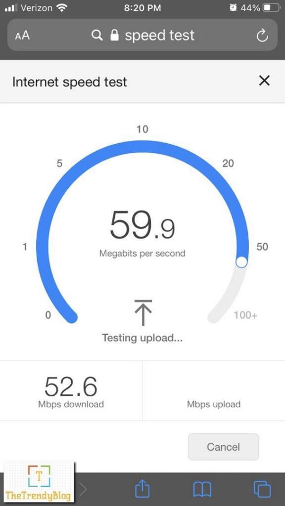 Motorola MH307 Mesh WiFI Speed - Near 1st Floor