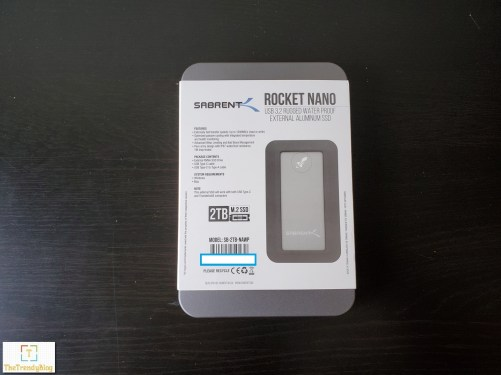 Sabrent Rocket nano ssd features