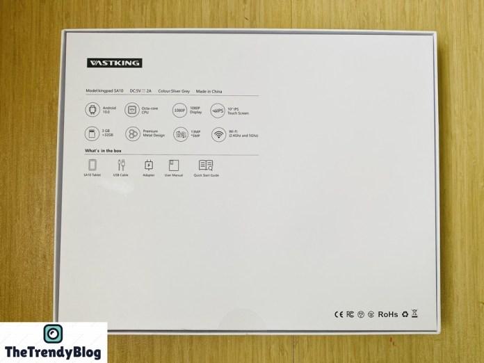 KingsPad SA10 Features