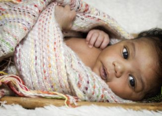 African american baby Stock Featured
