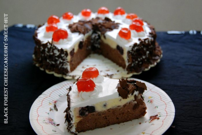Black Forest Cheese Cake The Trent