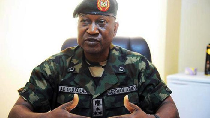 Major General Chris Olukolade, Director Defence Information