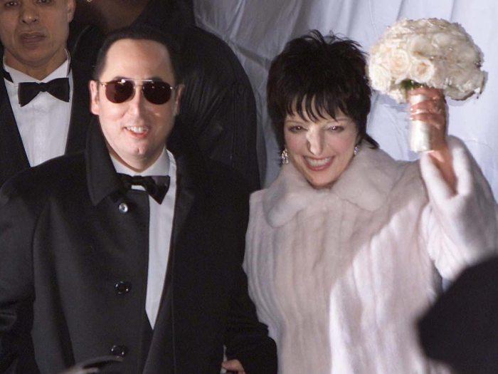 Liza Minnelli and David Gest Wedding The Trent