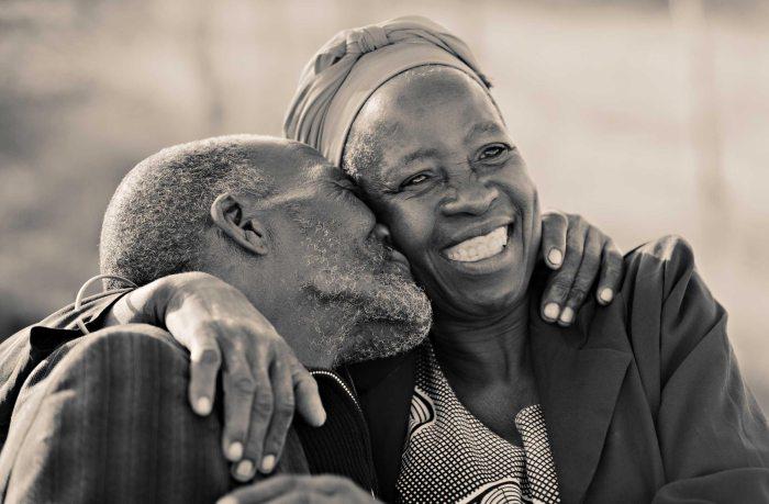 Loving Elderly Couple The Trent