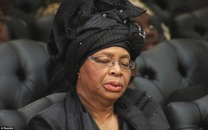 Mandela's widow Graca Machel,