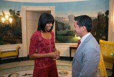 Michelle Obama 2013 the Trent 9