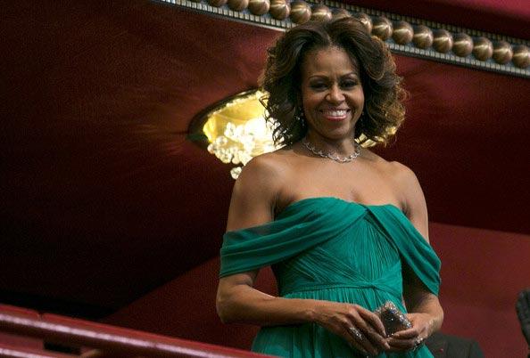 Michelle Obama Kennedy 2014