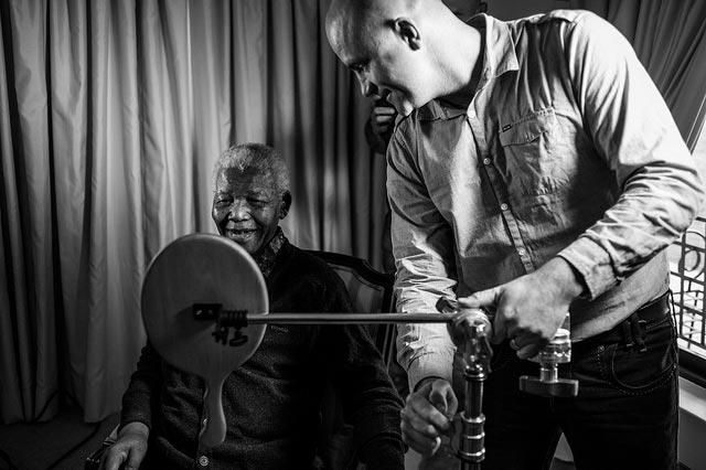 Nelson MAndela's Last Photo Shoot The Trent4