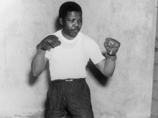Nelson Mandela Boxing The Trent