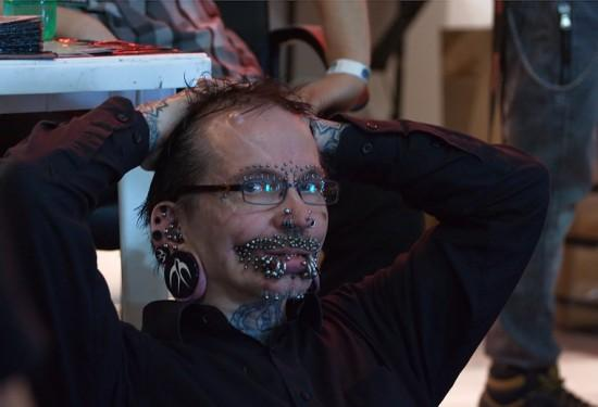 Rolf Buchholz Piercings The Trent