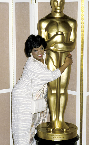 March 1986: The year her show premiered, Winfrey at the 58th Annual Academy Awards luncheon in Beverly Hills. (Photo Credit: Jim Smeal/WireImage.com)