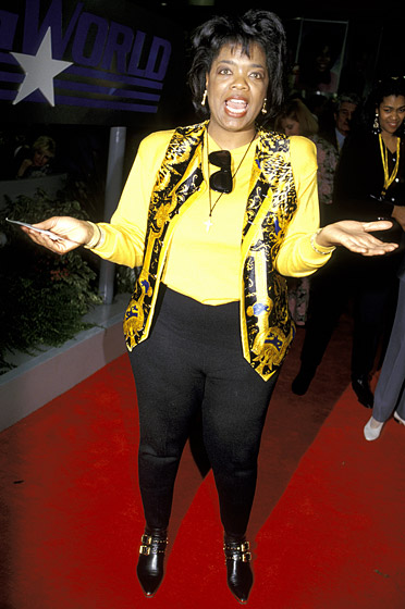 January 1993: At an event in San Francisco (Photo Credit: Jim Smeal/WireImage.com)