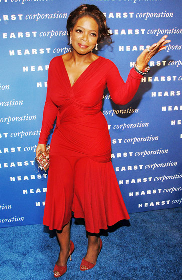 October 2006: The TV host at the inauguration of NYC landmark Hearst Tower in 2006. Winfrey's O Magazine is headquartered at the location and helmed by her friend Gayle King. (Photo Credit: Stephen Lovekin/WireImage.com)