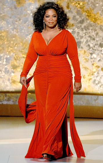 September 2008: The star when she took the stage at the 60th Annual Emmy Awards in L.A. (Photo Credit: Kevin Winter/Getty)