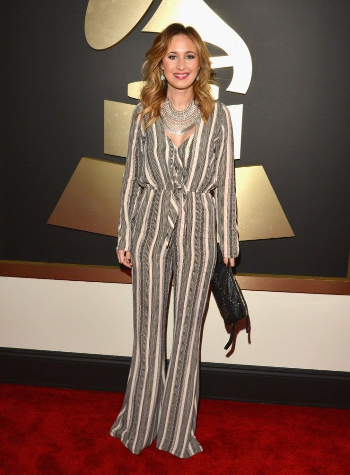 GRAMMY-nominated songwriter Jessi Alexander arrives at the 56th Annual GRAMMY Awards on Jan. 26 in Los Angeles (Photo Credit: Lester Cohen/WireImage.com)