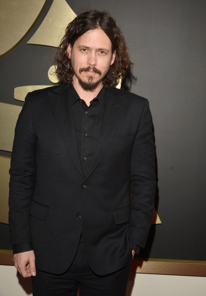 John Paul White from the GRAMMY-nominated band the Civil Wars arrives at the 56th Annual GRAMMY Awards on Jan. 26 in Los Angeles (Photo Credit: Lester Cohen/WireImage.com)