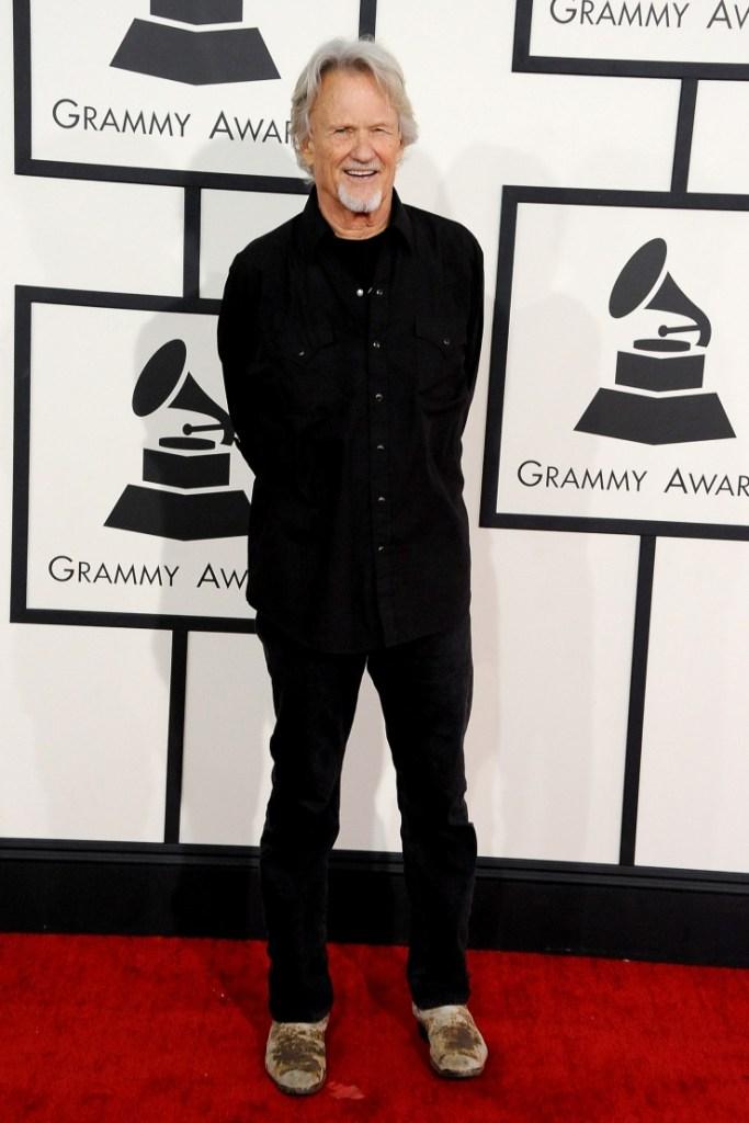 Lifetime Achievement Award recipient Kris Kristofferson arrives at the 56th Annual GRAMMY Awards on Jan. 26 in Los Angeles (Photo Credit: Steve Granitz/WireImage.com)