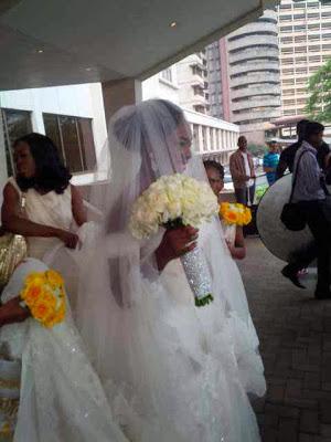 Bez nigerian artist wedding ring