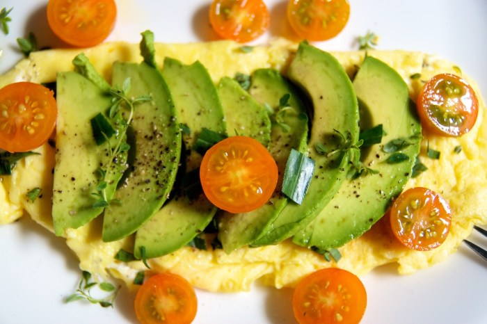 Goat Cheese Omelet The Trent