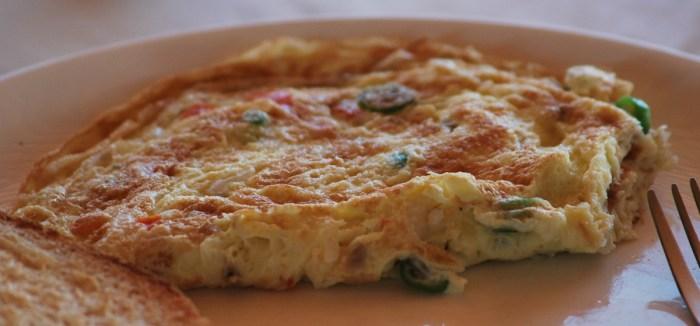 Masala Omelette The Trent