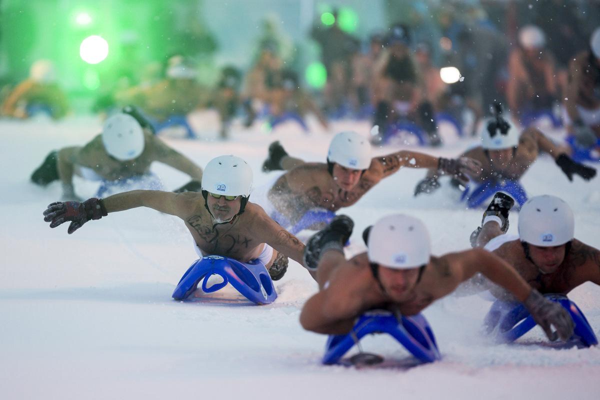 Nude sledding germany #13