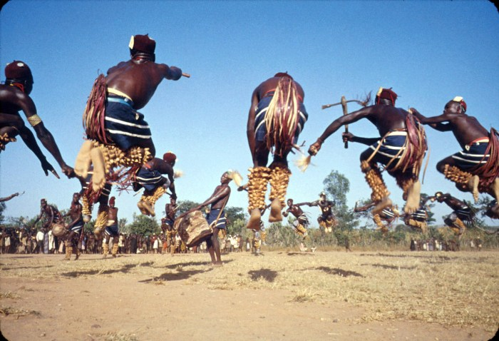 Irigwe Miango Dancers: This photograph was taken when Eliot Elisofon...