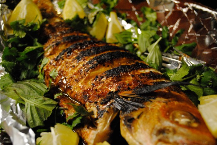 Roast Whole Fish The Trent