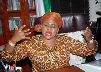 Former Nigerian Aviation Minister, Stella Oduah