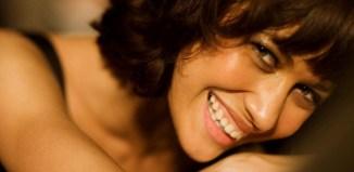 woman smile skin care