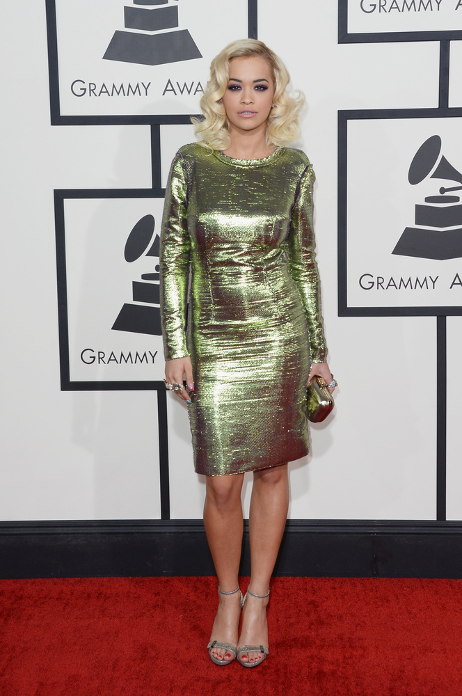 Rita Ora in Lanvin, Jimmy Choo and Lorraine Schwartz